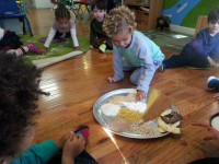 sensory learning grain